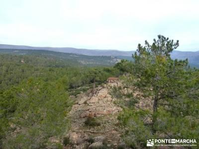 Pinares, Riscos y Atalayas; rutas senderistas; ruta de senderismo